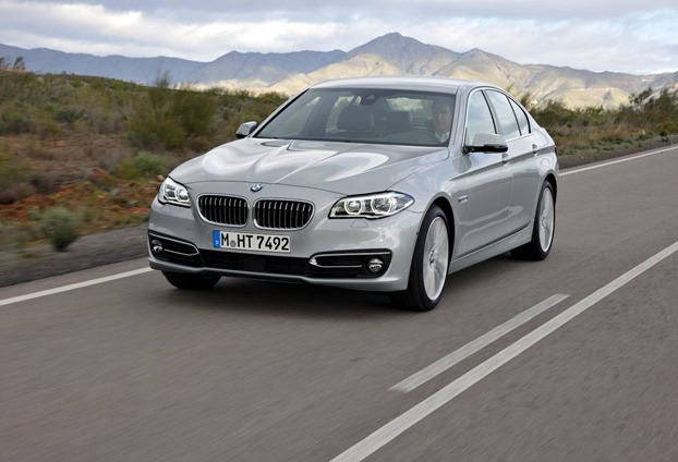 2014 BMW 5 series revealed