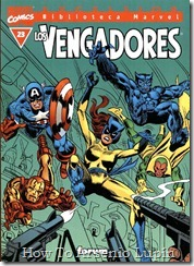 P00023 - Biblioteca Marvel - Avengers #23