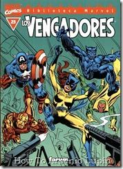 P00023 - Biblioteca Marvel - Avengers #23