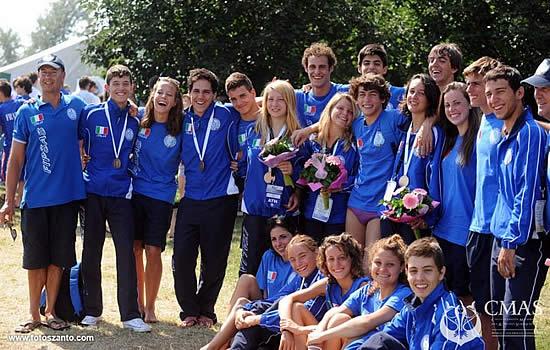 Miskolc 2011, Europei Junior di Nuoto Pinnato