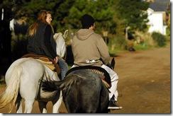Recorrida a caballo en el Partido de La Costa