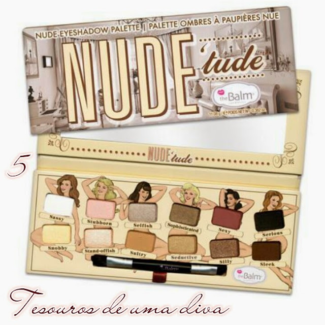 The Balm - Nudetude eyeshadow palette