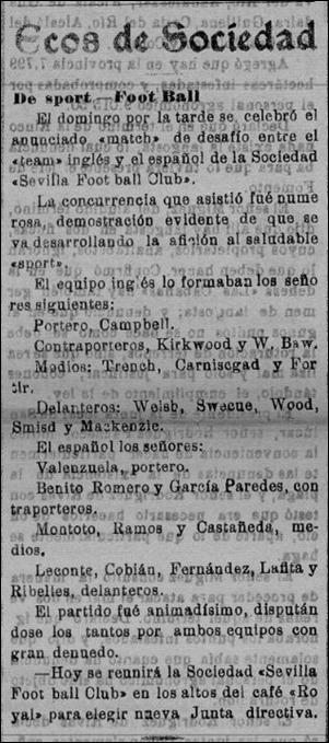 diario Sevilla 22-2-1909 euqipo ingles