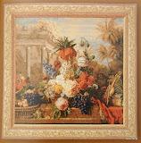 Gobelin 1108, Bouquet Exotique, 150x150cm