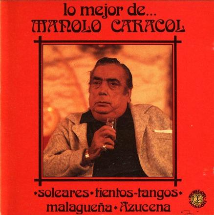Lo mejor de Manolo Caracol - Frontal