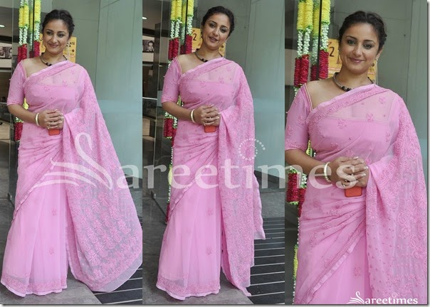 Pink_Embellished_Saree