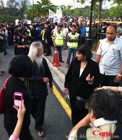Gambar perhimpunan bebaskan Anwar 901