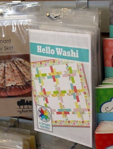 Hello Washi quilt pattern