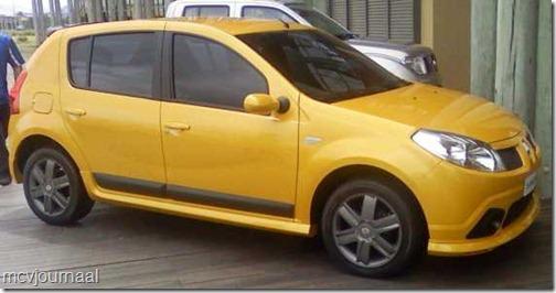 Renault Sandero verkopen 0711