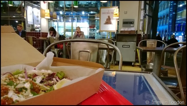 Dinner at Leon