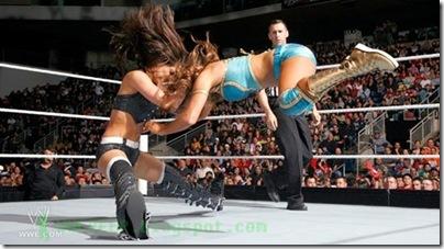 Brie,Nikki Bella  - Bella Buster