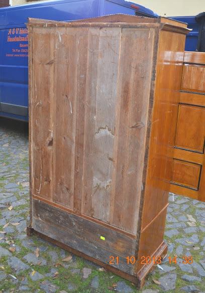 Schrank kleiderschrank w scheschrank zum restaurieren for Schrank restaurieren