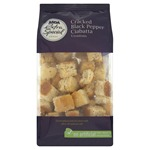 Asda Extra Special Cracked Black Pepper Ciabatta Croutons 85g
