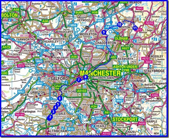 My 40km route with 360 metres ascent