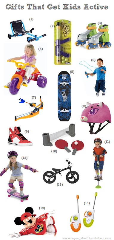 christmas gift ideas: toys that promote physical activity