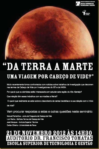 Da Terra a Marte. convite