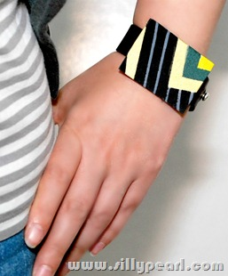 fendi inspired bracelet