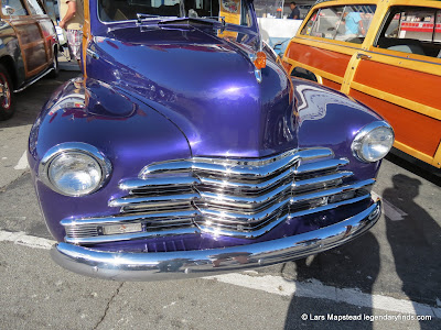 Santa Cruz Woodies on The Wharf 2012