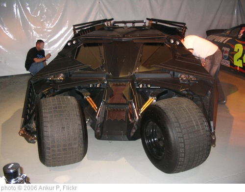 'Batmobile in Warner Studios LA' photo (c) 2006, Ankur P - license: http://creativecommons.org/licenses/by-sa/2.0/