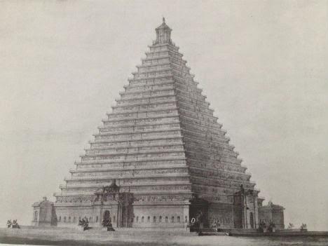Piramide en Trafalgar Square