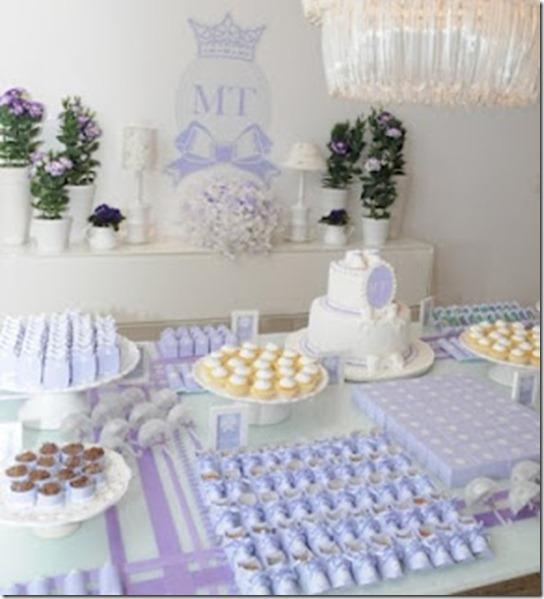 chá de bebê decoração - mesa 56