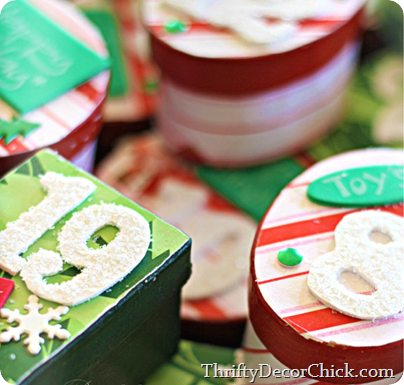 advent box craft