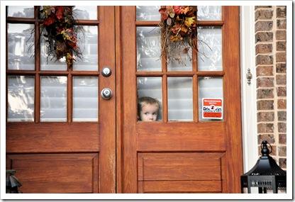 Finley Peeking