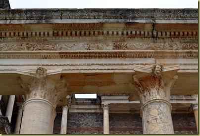 Sardis Gymnasium Facade Detail