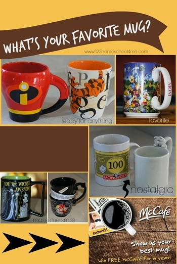 what is your favorite mug Win free McCafe coffee for a year
