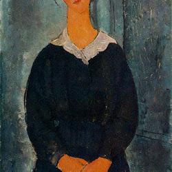 Modigliani, Servant Girl 1918.jpg