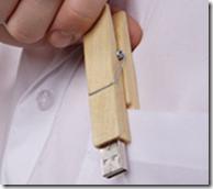 Chiavetta USB pinza per stendere