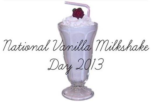 vainilla milksahke day