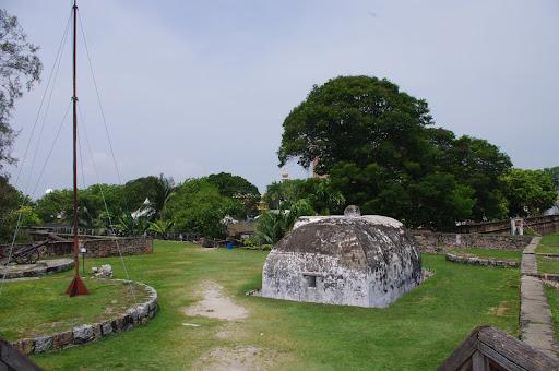 Historic Fort Cornwallis.