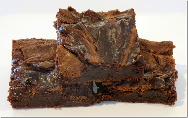 Nutella Caramel Swirled Brownies 2-4-15