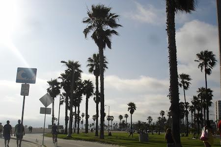 Plaja Venice Beach de langa Los Angeles: Venice Boardwalk, mai pe dupa-amiaza.JPG
