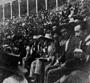 1897-07-01 SySp. Madrid aficionados del tendido 2 (2)