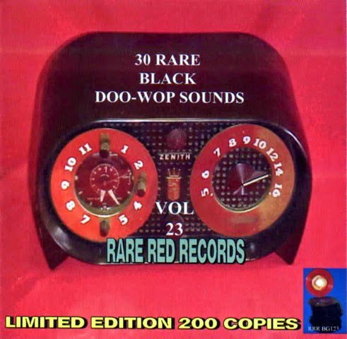 Rare Black Doo-Wop Sounds Vol. 23 - 31 - Front