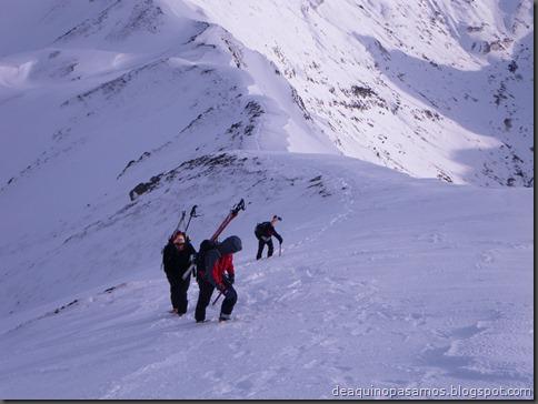 Pico de Canal Roya 2345m con esquis (Portalet, Pirineos) (Isra) 7328