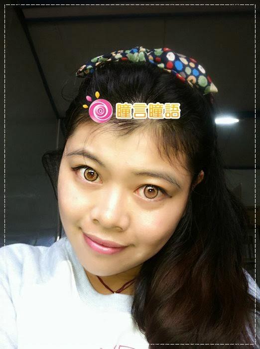 韓國GEO隱形眼鏡-GEO Holicat 荷麗貓仙女咖(Barbie Cat)19