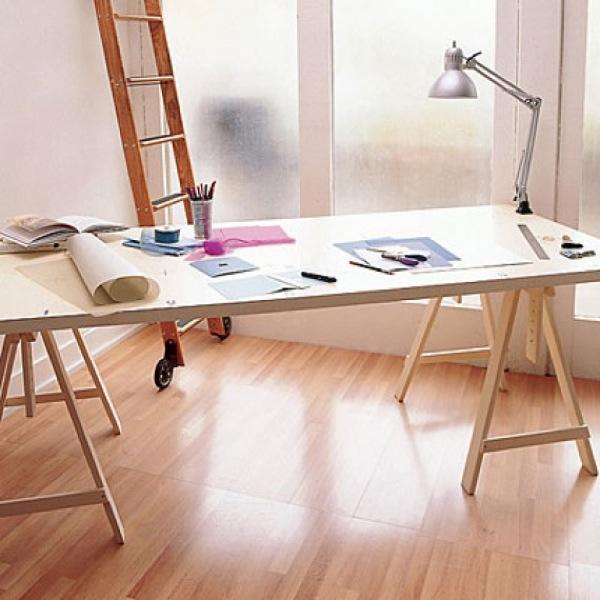 Sin pecado concebida escritorio de caballetes - Caballetes para mesas ...