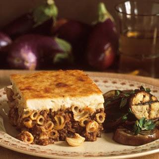 Pastitsio Pasta Recipes
