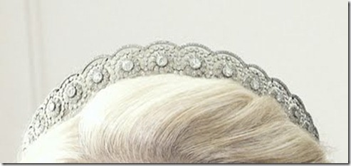 The Diamond Daisy Tiara