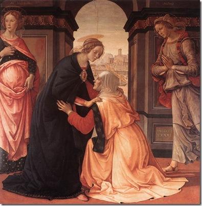 Nossa Senhora visita Santa Isabel