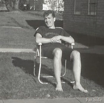 Gene in a lawn chir