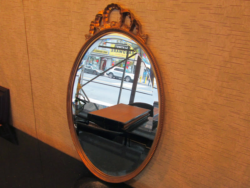 Uttermost Co. Oval Wall Mirror