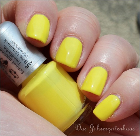 Lackaktion gelb Rival de Loop young yellowness 6