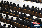 Yartzheit Tish For Stamar Rebbe Held In Satmar Beis Medrash Of Monsey (Photos by Moshe Lichtenstein) - IMG_5454.JPG