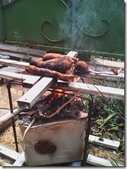 Saatnya bakar ubi (mmmmm)
