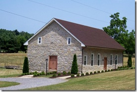 Old Providence Church, original old stone church building