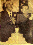 Newspaper clipping for Giustino Toppi and Falconilla Dimatteo